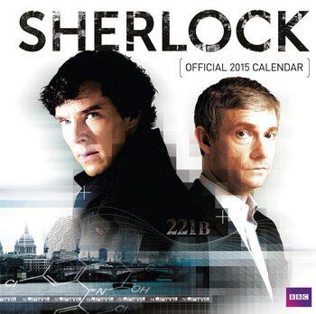 Kalendář 2017 Sherlock