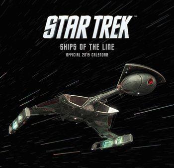 Kalendář 2017 Star Trek