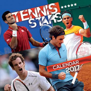 Kalendár 2017 Tennis - Stars