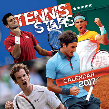 Kalendář 2017 Tennis - Stars