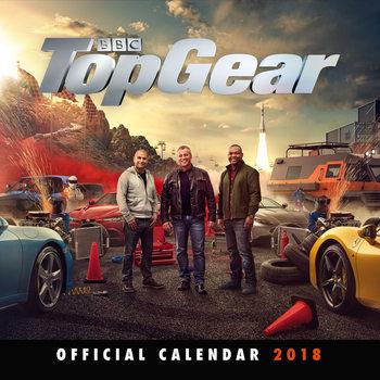 Kalendár 2018 Top Gear