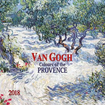 Kalendár 2018 Vincent van Gogh - Colours of the Provence