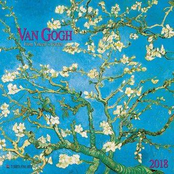 Kalendár 2018 Vincent van Gogh - From Vincent's Garden