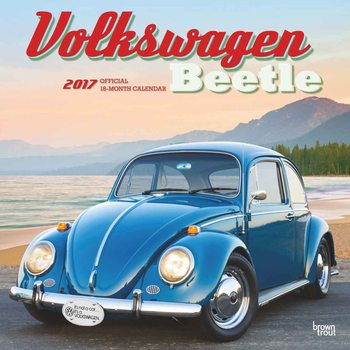 Kalendář 2017 Volkswagen - Beetle