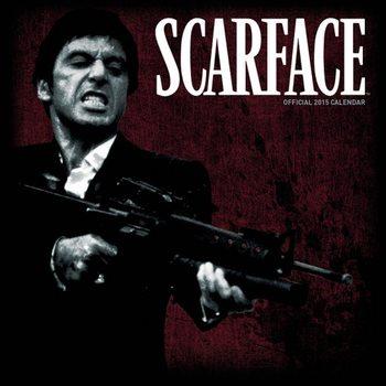 Kalendár 2017 Zjazvená tvár - Scarface