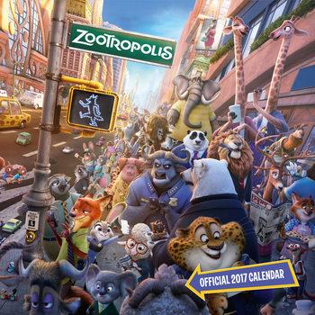 Kalendář 2017 Zootropolis: Město zvířat