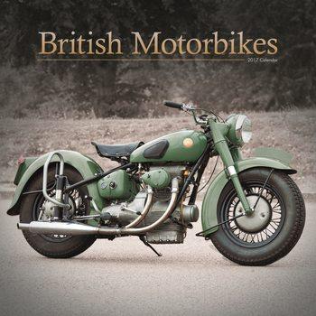 British Motorbikes Kalendarz 2017