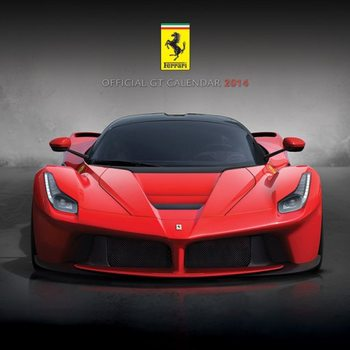 Calendar 2014 - FERRARI GT Kalendarz 2017