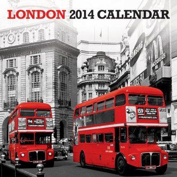 Calendar 2014 - LONDON 2014 Kalendarz 2017