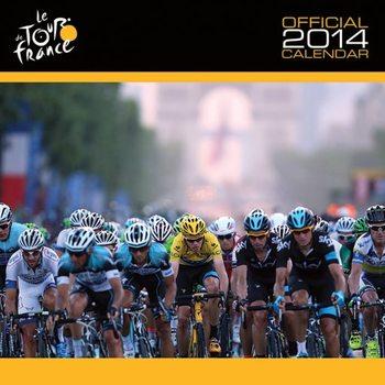Calendar 2014 - TOUR DE FRANCE Kalendarz 2017