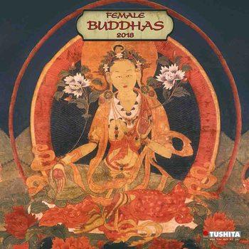 Female Buddhas Kalendarz 2018