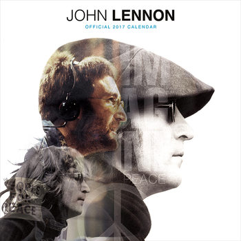 John Lennon Kalendarz 2017