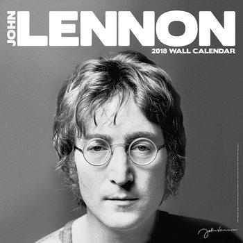 John Lennon Kalendarz 2018