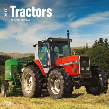 Tractors Kalendarz 2017