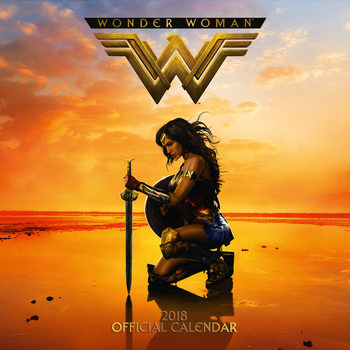 Wonder Woman Kalendarz 2018