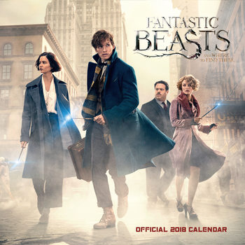 Fantastic Beasts and Where to Find Them Kalender 2018
