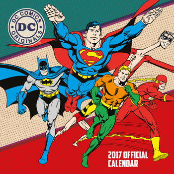DC Comics Kalender 2017