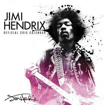 Jimi Hendrix Kalender 2017