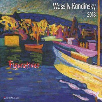 Wassily Kandinsky - Figuratives  Kalender 2018