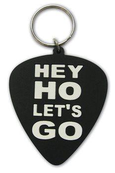 Klíčenka Ramones - Hey Ho, Let's Go (Plectrum)