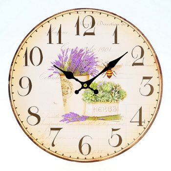 Design Clocks - Lavender klok