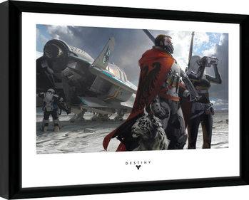 Destiny - Guardians gerahmte Poster
