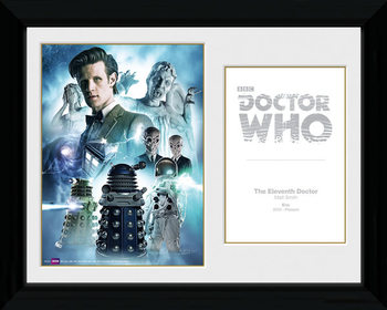 Doctor Who - 11th Doctor gerahmte Poster