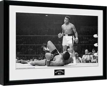 Muhammad Ali - Liston 2 kunststoffrahmen