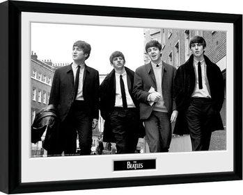 The Beatles - In London gerahmte Poster