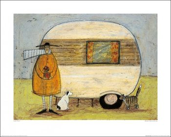 Sam Toft - Home From Home Kunsttrykk