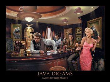 Lámina Java Dreams - Chris Consani