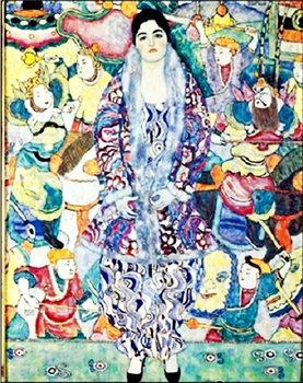 Lámina Portrait of Friederike Maria Beer 1917