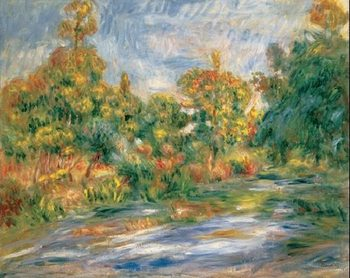 Landscape with River, 1917 Reproduction d'art