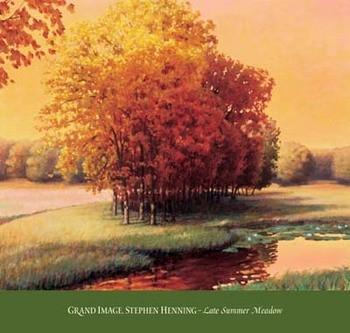 Late Summer Meadow Festmény reprodukció