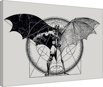 Leinwand Poster Batman - Dark Arts