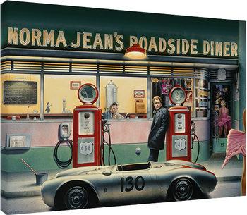 Leinwand Poster Chris Consani - Destiny Highway