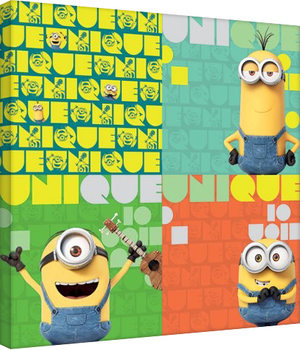 Leinwand Poster Minions (Despicable Me - Unique