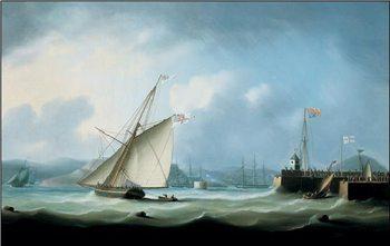 Leith Harbour  Festmény reprodukció