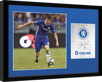 Chelsea - Oscar 16/17 Poster Incorniciato
