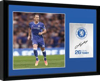 Chelsea - Terry 16/17 Poster Incorniciato