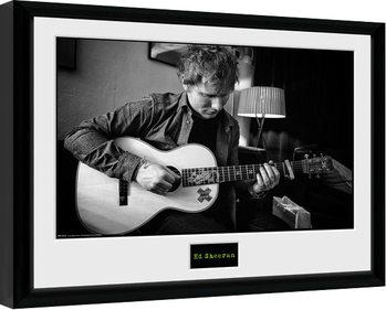 Ed Sheeran - Chord Poster Incorniciato