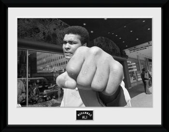 Muhammad Ali - Fist locandine Film in Plexiglass