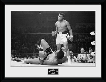 Muhammad Ali - Liston 2 locandine Film in Plexiglass