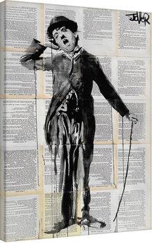 Plagát Canvas Loui Jover - The Little Tramp