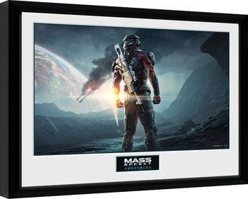 Mass Effect Andromeda - Landscape Poster enmarcado