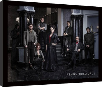Penny Dreadful - Group Poster enmarcado