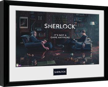 Sherlock - Rising Tide Poster enmarcado