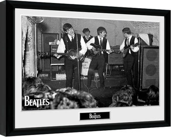 The Beatles - The Cavern 3 Poster enmarcado