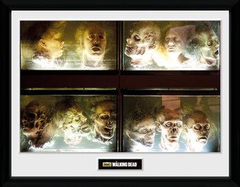 The Walking Dead - In A Pickle Poster enmarcado