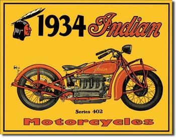 Metallschild INDIAN - motorcycles
